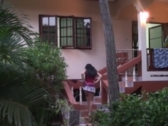 Bella Margo  in hardcore sex at hotel with a lusty couple