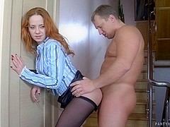 PantyhoseTales Clip: Salome and Adrian