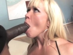 Hardcore interracial scene with a white babe Austin Taylor