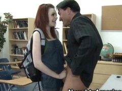 Marina Blue & Marco Banderas in Naughty Book Worms