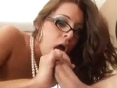 Alluring Gracie Glam With Glasses Copulates Fine