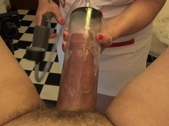 Pegging Anal Cock Pump Sounding Nurse