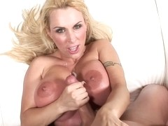 Holly Halston A Good Handjob And Titfuck Hard