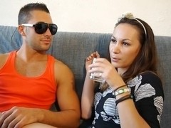 Romanian Dania french sextape sexy gals sex fucking hard