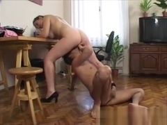 Ugly Milf Slut Fucked And Cummed On