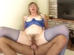 Hairy Blonde Milf