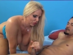 Incredible pornstar Karen Fisher in horny big tits, facial sex video