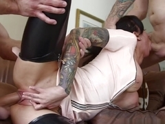 Exotic pornstars Tommy Pistol, Bill Bailey, Lily Lane in Horny MILF, Brunette sex video