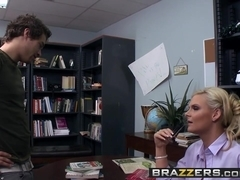 Big Tits at School - Phoenix Marie Xander Corvus - Librarian In Heat - Brazzers