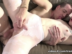Chad Diamond in Tranny Hoes in Pantyhose #04 - TrannyPros