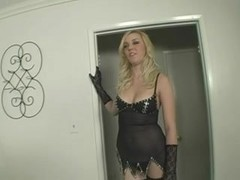 Darksome on White Camel Toe - Annette Schwarz Scene two