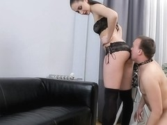 Sweet Pussy Eating and Ass Licking Femdom