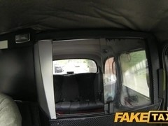 FakeTaxi: Youthful legal age teenager chokes on my semen