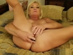 Anal Toy Orgasms with Triple Penetration