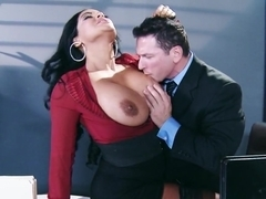Big Tits at Work: My Boss Is A Creep