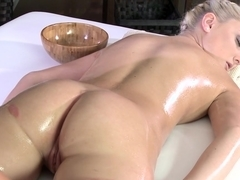 Fabulous pornstars Anna Rose, Katy Rose in Incredible Massage, Fingering porn scene