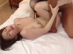 Yui Matsuno In Stockings Has Pussy Deeply Fucked By Licked