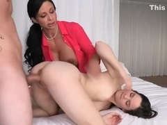 Jewels Jade and Jenna Ross loved crazy threeway session