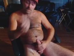 Redneck Le&#039_roy standing up cumshot requested by Mike