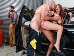 Cassidy Banks & Jmac in My Mechanic Fucked My Wife - SneakySex