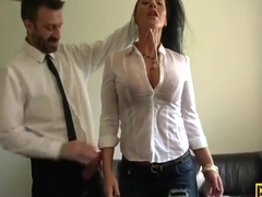 Pascal White and Candi Kayne in Busty Deep Throating Milf Dominated