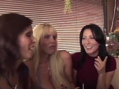 Slutty Cougars Sharing Younger Schlong In Group Action