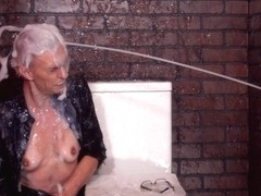Slimewave - Milf Takes Gooey Dildo In Doggystyle