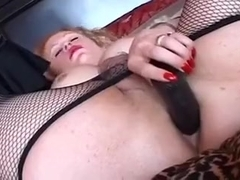 Best homemade shemale video with Blonde, Mature scenes