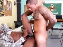 Gaping gay anal galleries Yes Drill Sergeant!