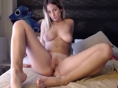 Big ass blonde porn webcam with riding dildo