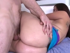 First timer Carmen Ross has the biggest ass