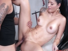 Salome Gil Sex With The Mechanic Salome Gil