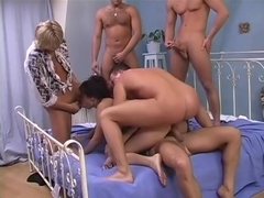 Claudia Rossi Anal Gangbanged by 4 Cocks