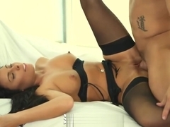HD  - Exotic Gianna Nicole loves to ride dick and taste cum