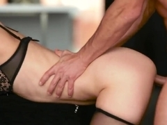 Carol Vega's pussy is rammed by evil prick