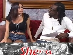 Sheila Marie reamed in her pussy and ass