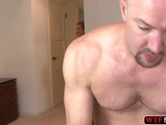 Teen bitch Rilynn Rae amazed with her stepdad cock and gives blowjob