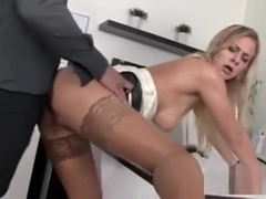 Astounded Model In Underwear Is Geeting Pissed On And Fucked