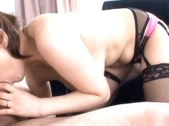 Tits fondling and fingering for asian