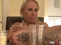 PURE XXX FILMS Squirting my Step###