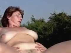 HOT FUCK #210 Busty Mature Woman meets Swedish Pornstar