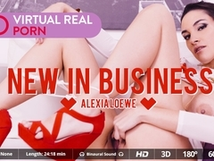 Alexia Loewe in New in business - VirtualRealPorn