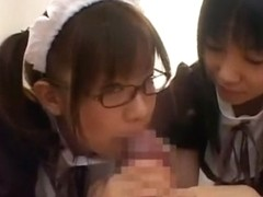 Crazy Japanese model Yuria Hidaka, Nana Miyachi, Hina Otsuka in Hottest Stockings, Cumshots JAV sc.