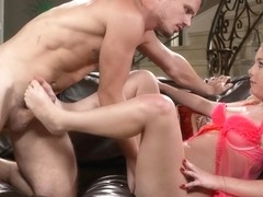 Dixie Lynn - Sperm Loads On Sexy Toes 4