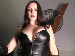 Gloves and Tits Submission with Goddess Alexandra Snow