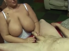 Chubby british ladies have gangbang orgy 1