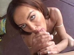 Sexy mother I'd like to fuck Nancy Vee outdoor POV