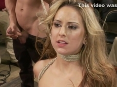 Shaved cunt blonde public fucked