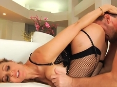 Crazy pornstars Erik Everhard, Brooke Wylde, Julia Ann in Exotic Big Ass, Stockings porn scene