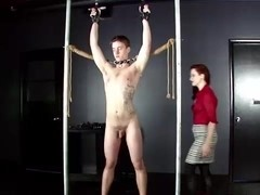 CBT&Ballbusting - MadeilineC Flogged Paddled & Smacked